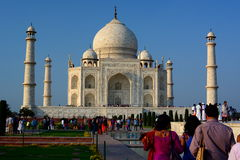 Taj Mahal. Agra, Uttar Pradesh. India Stock Photo