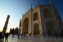 Taj Mahal. Agra, Uttar Pradesh. India Royalty Free Stock Image