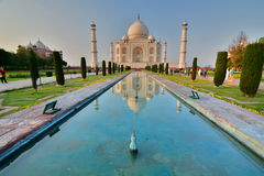 Taj Mahal. Agra, Uttar Pradesh. India royalty free stock photography
