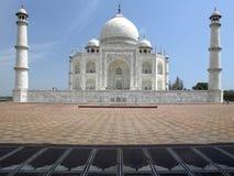 Taj Mahal - Agra - Uttar Pradesh - Indien stockfotografie