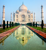 Taj Mahal, Agra, Uttar Pradesh, Indien. Royaltyfria Bilder