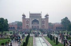 Taj Mahal, Agra, Uttar Pradesh, Indien Lizenzfreies Stockbild