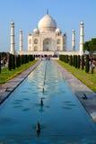 taj mahal Agra, Uttar Pradesh indu Zdjęcia Royalty Free