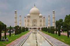 Taj Mahal, Agra, Uttar Pradesh, la India imagen de archivo