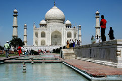 Taj mahal,agra,uttarpradesh,india Royalty Free Stock Photography