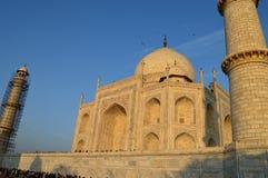 Taj Mahal al tramonto Immagini Stock
