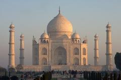 Taj Mahal, alba Fotografia Stock
