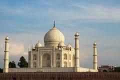 Taj Mahal all'alba Immagini Stock Libere da Diritti