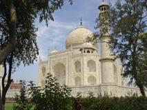 Taj Mahal from an angle Royalty Free Stock Photo