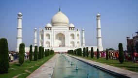 Taj Mahal in Arga, India immagine stock libera da diritti