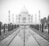 Taj Mahal B/W Immagine Stock