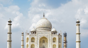 Taj Mahal bajo mantenimiento Imagen de archivo