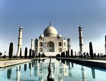Taj Mahal. Beautiful Taj Mahal in Agra Royalty Free Stock Images