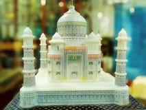 Taj Mahal-beautiful Marble stone made. royalty free stock photography