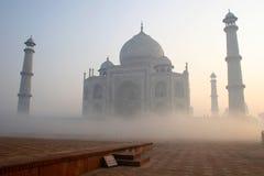 Taj Mahal befogged Foto de archivo libre de regalías