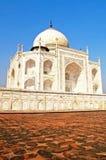 Taj Mahal, blue sky behind Royalty Free Stock Image