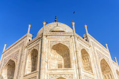 Taj Mahal, Blue sky, Travel to India Royalty Free Stock Photo