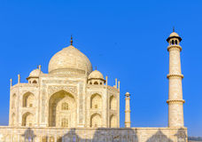 Taj Mahal, Blue sky, Travel to India Stock Image