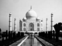 Taj Mahal blurred Royalty Free Stock Photography