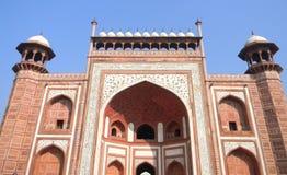 Taj Mahal bramy architektury szczegół Zdjęcia Stock