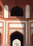 Taj Mahal bramy architektury szczegół Fotografia Stock