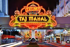 Taj Mahal. Casino September 8, 2012 in Atlantic City, NJ.  Gambling was legalized in the city in 1976 and led to a resurgence Stock Photo
