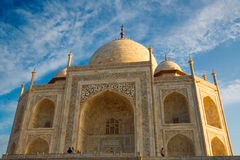 Taj Mahal close up Royalty Free Stock Images