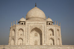 Taj Mahal close-up Stock Photos
