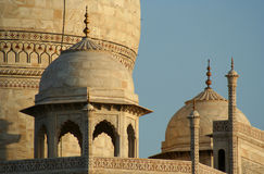 Taj Mahal close up Royalty Free Stock Photo