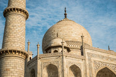 Taj Mahal close up Royalty Free Stock Photography