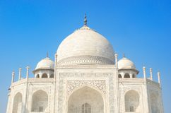 Taj Mahal close Stock Photography
