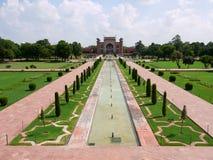 Taj Mahal complex Royalty Free Stock Photo