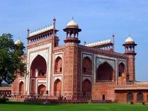 Taj Mahal Complex Entrance. The entrance to the Taj Mahal complex. Agra. India Royalty Free Stock Image