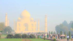 Taj mahal (czasu upływ) zdjęcie wideo