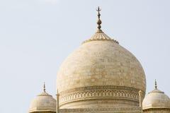 Taj Mahal Dach Stockbilder
