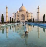 Taj Mahal dans la lumière de lever de soleil, Agra, Photo libre de droits