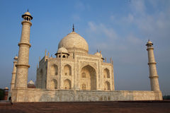 Taj Mahal at dawn Royalty Free Stock Photography
