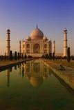 Taj Mahal at dawn Royalty Free Stock Images