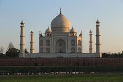 Taj Mahal at dawn Stock Image
