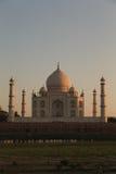 Taj Mahal at dawn Stock Images