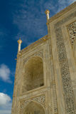 Taj Mahal detail Stock Photography