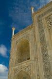 Taj Mahal detalj arkivbild