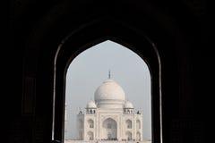 Taj Mahal From Distance Stockfotos