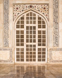 Taj Mahal Door. One of the side doors to the famous Taj Mahal monument in Agra, India Stock Photography