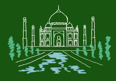 Taj mahal 2 Royalty Free Stock Photography