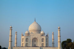 Taj Mahal at Dusk Royalty Free Stock Photography