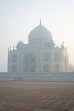 Taj Mahal in early morning mist Royalty Free Stock Image