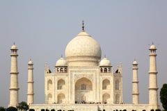 Taj Mahal is een mausoleum en een moskee Royalty-vrije Stock Foto