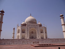 Taj Mahal, eine UNESCO-Welterbestätte Lizenzfreies Stockfoto