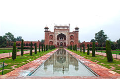 Taj Mahal Eingang Stockbilder